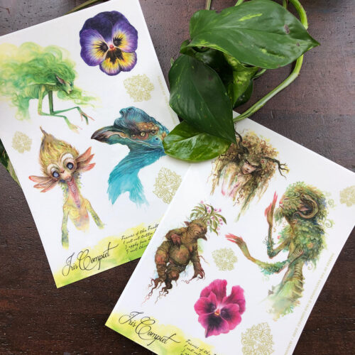 temporary faery tattoos